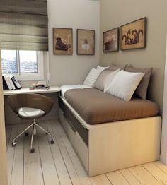 decoração de quartos pequenos