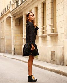 #black #chanel #styleheroine