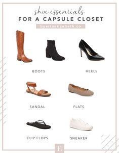 Shoe Essentials for a Capsule Wardrobe and Minimal Style When it comes to a minimal and curated capsule closet you want to make sure that you have all your shoe essentials for a capsule wardrobe. Minimal Chic, Minimal Fashion, Trendy Fashion, Plus Size Fashion, Cheap Fashion, Classic Womens Fashion, Style Fashion, Minimal Clothing, Trendy Style