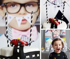 A RACE CAR party? Such a fun idea and something I would have absolutely been all about as a kid. {Thanks for pinning, @Pottery Barn Kids!} /ES