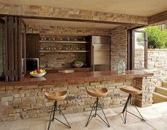 Mark Cutler Design - Santa Monica Beach ~ Home alone with stone... you'rs invited!