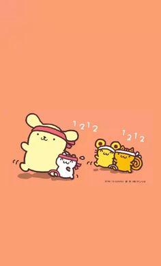 Sanrio Wallpaper, Kawaii Wallpaper, Hello Sanrio, Cute Cartoon Animals, Line Friends, Sanrio Characters, Cute Cartoon Wallpapers, Phone Backgrounds, Flamingo