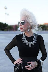 ADVANCED STYLE: Silver Style