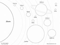 outer space free printables | Solar System Coloring Page | Crayon Action Coloring Pages