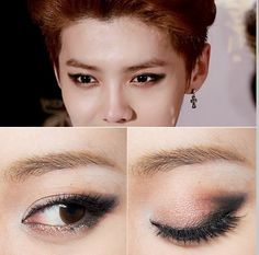 Check out this Luhan inspired makeup tutorial! Tutorial link here: http://eyecandyscom.tumblr.com