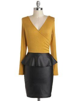 Bistro of Both Worlds Dress, #ModCloth