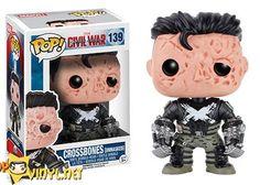 Marvel Captain America: Civil War - Crossbones (unmasked)