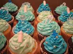 Super Baby Shower Ideas For Boys Cupcakes Dessert Tables Ideas Baby Shower Cupcakes For Girls, Baby Shower Sweets, Cupcakes For Boys, Baby Shower Cookies, Cute Cupcakes, Shower Bebe, Shower Cakes, Cupcake Cakes, Cup Cakes
