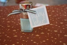 Baby Blue! Boy baby shower favor tags - Free printable