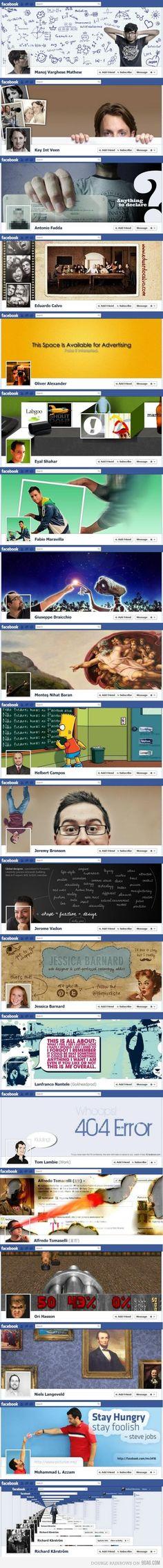 Cabeceras de Facebook