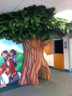 3D Trees in Children's Themed Environments