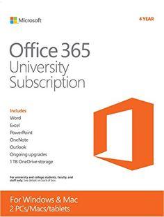 Mac, Office 365, Microsoft Office, University, Student, Words, Boxing, English, Amazon