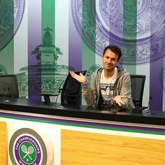 Wimbledon, yeah! #tennis #sports #wimbledon #england #me