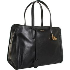 Alexander McQueen Padlock Zip Around - I have never wanted a purse so badly.
