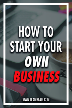 You want to start your own business, escape your daily 9-5 job and dreaming of  independence? A lot of people are scared, don't want to fail or don't know where to start. These thoughts are common to to new starters, so don't panic. We give you some tips to get you started as smooth as possible!