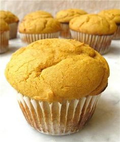 Gluten-Free Pumpkin Muffins – Spicy, moist, fluffy… and gluten-free!