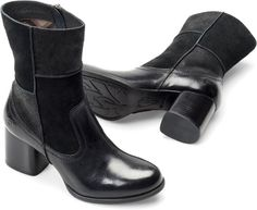 Born Womens HAYLEY in Black Combo #bornshoes