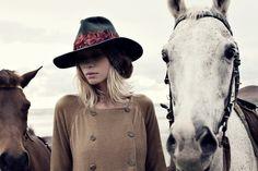 Horses / fashion, Rabens Saloner