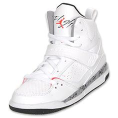 The Jordan Flight 45 High combines elements of Jordan and Nike Basketball shoes from the past, the most promenient being the outsole taken from the Air Jordan 3.