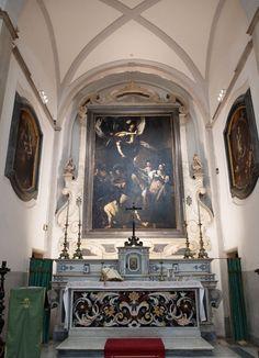 Pio Monte della Misericordia - works of Caravaggio - Naples, Italy