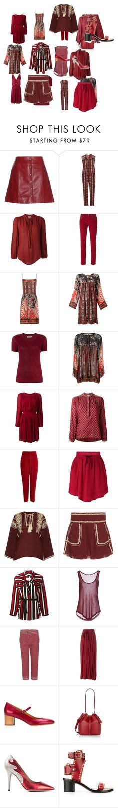 """""""Untitled #3381"""" by luciana-boneca on Polyvore featuring Étoile Isabel Marant, Isabel Marant, MICHAEL Michael Kors, women's clothing, women, female, woman, misses and juniors"""