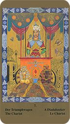 Chariot from the Kazanlar Tarot at TarotAdvice Tarot Reading, Tarot Decks, Tarot Cards, Art Gallery, Image, Tarot Card Decks, Art Museum, Fine Art Gallery, Tarot Spreads