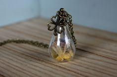 Halskette Glücksklee von Le petit bouton auf DaWanda.com