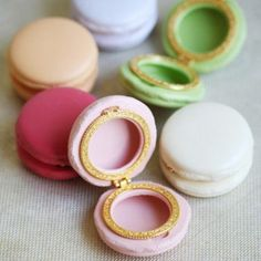 adorable macaron boxes {great gift ideas}