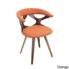 $140 Gardenia Mid Century Modern Walnut Wood Accent Chair