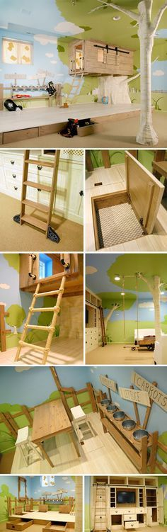 Is this room for real? Gosh. I wanna it. 'n not for my future kids :D
