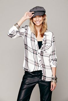 Rails Womens Rails Plaid Shirt