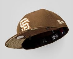 New Era SF Giants Size 8 Brown/Camo Upper Playground Size 8 Rare #sfgiants #59Fifty