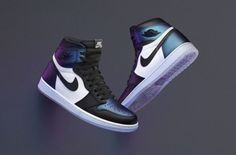 Official Images: Air Jordan 1 Chameleon (All Star)
