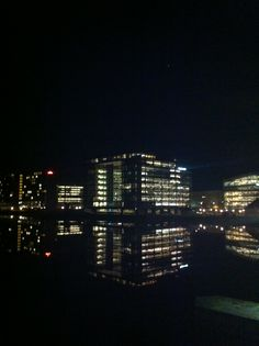 View from Langebro at night. Photo: Camilla Momme
