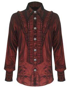 Red Vampire Regency Top