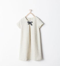 ZARA - KIDS - DRESS WITH BOW APPLIQUÉ