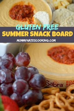 Easy Gluten Free Summer Snack Board - perfect for summer parties and pool parties! Share these snacks with guests! Pool Snacks, Camping Snacks, Summer Snacks, Gluten Free Recipes For Kids, Gluten Free Snacks, Easy Cooking, Camping Cooking, Cooking Tips, Free Summer
