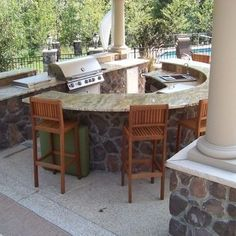 Outdoor Kitchen Design Ideas, Pictures, Remodel, and Decor - page 11
