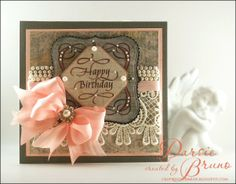 A beautiful card from Darsie Bruno on Quietfire Creations: Happy Family Days...