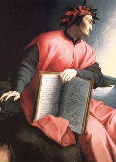 Angolo Bronzoni - Allegory of Dante (Detail) -