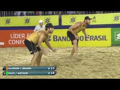 BeachVolley Brasil-Alison/Bruno x Eduardo Davi/Arthur-5 ETAPA-20162017-SAO JOSE OPEN - YouTube