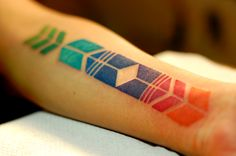 symmetrical tattoo