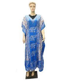 Indian Free Size Dress Cover Up Party Wear Any Season Beach Casual Wear Kaftan  #Unbranded #KaftaanBeachDressMaxi #Casual