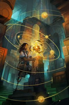 ancient_discovery_by_juliedillon - Digital Art by Julie Dillon   <3