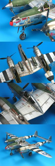 "P-38J ""Kozy Koza"" Lightning | Unknown scale"