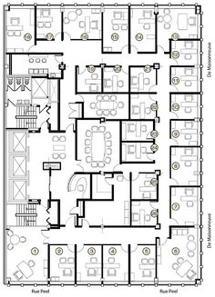 floor plan of office layout Tm vi Google