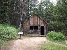 Garnet Ghost Town Montana (jail)
