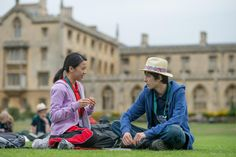 Jo Yang and Asa Butterfield in A Brilliant Young Mind