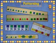 Pattern Lesson - Really cute pattern mats