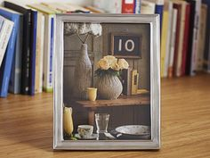 Rectangular Pewter Photo Frame - Width: 21 cm (8,3″) - Height: 27 cm (10,6″) - Picture Size: 18×24 cm - Frame Back Stand: Wood - #pewter #rectangular #picture #photo #frame #peltro #cornice #fotografia #portafoto #rettangolare #zinn #bilderrahmen #fotorahmen #rahmen #étain #etain #cadre #peltre #tinn #олово #оловянный #gifts #giftware #home #housewares #homewares #decor #design #bottega #peltro #GT #italian #handmade #made #italy #artisans #craftsmanship #craftsman #primitive #vintage…
